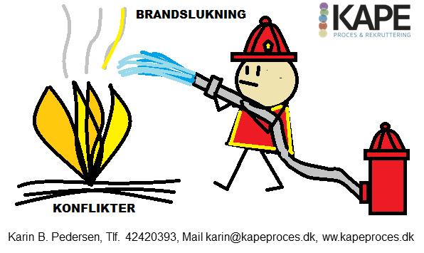 Konflikthåndtering – brandslukning